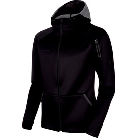 Mammut Logo ML Hooded Jacket Men black mélange